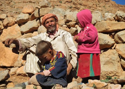 Visit a nomadic Berber family on a private guided tour with Experience Morocco
