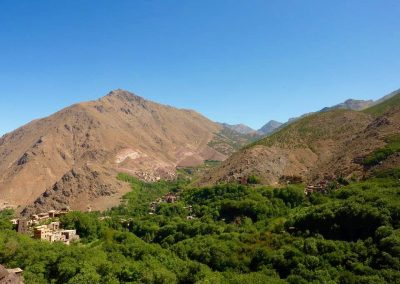 Imlil Valley in the High Atlas Mountains of Morocco