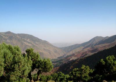Azaden Valley in the High Atlas Mountains of Morocco