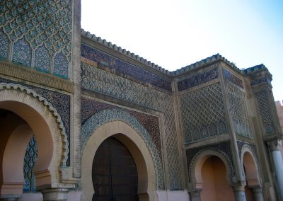 Bab el-Mansour in Morocco's imperial city of Meknes