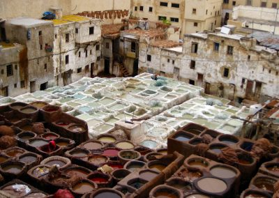 Chouara Tannery in classic Morocco's Fes