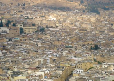 Fes' old town in Morocco