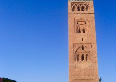 Marrakech's Koutoubia Mosque in Morocco