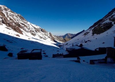 Nelter camp near Jebel Toubkal in the High Atlas Mountains of Morocco
