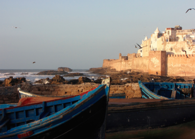 Visit the seaside town of Essaouira on a private guided Highlights of Morocco tour with Experience Morocco