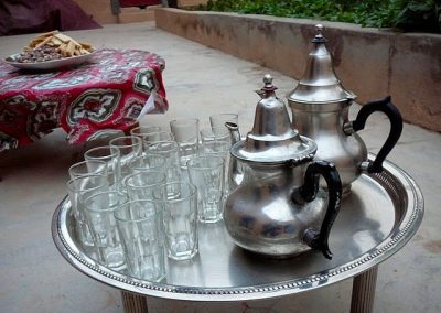 Tea time on a private guided hike with Experience Morocco