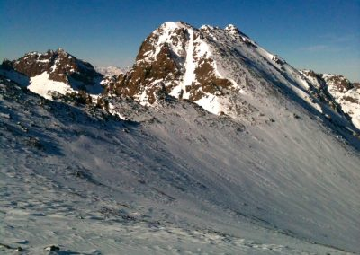 Toubkal West on a guided winter trek in the High Atlas Mountains with Experience Morocco
