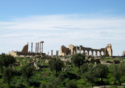 Volubilis ruins in Morocco