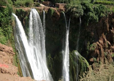 Visit Ouzoud Waterfalls on private guided day trip from Marrakech with Experience Morocco