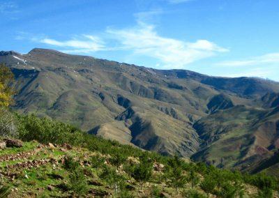 Driving through the High Atlas Mountains