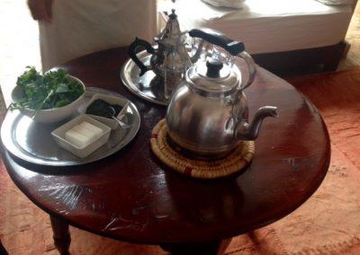 Ingredients for Moroccan mint tea