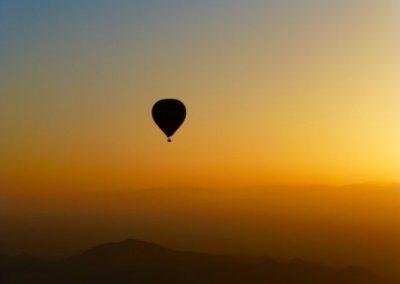 Enjoy a sunrise hot air balloon ride near Marrakech with Experience Morocco