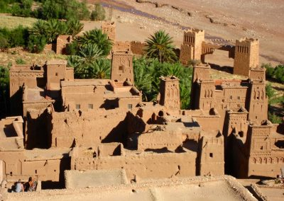 View from within Ksar Ait Ben Haddou