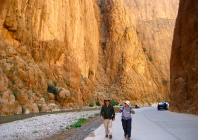 Walk through Todra Gorge on a private guided tour with Experience Morocco