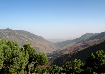 Azaden Valley in the High Atlas Mountains of Morocco