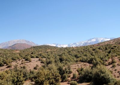 Rugged countryside in the High Atlas Mountains of Morocco
