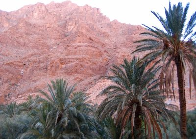 Cliffs near Todra Gorge in Morocco