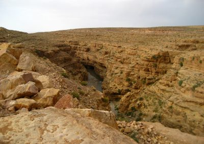 Gorge near Midelt in Morocco