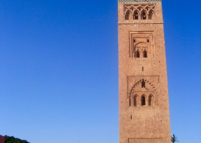 Marrakech's Koutoubia Mosque in Morocco