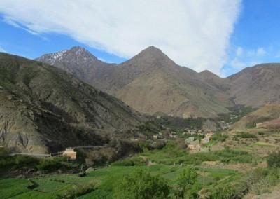 Ait Mizane Valley in the springtime